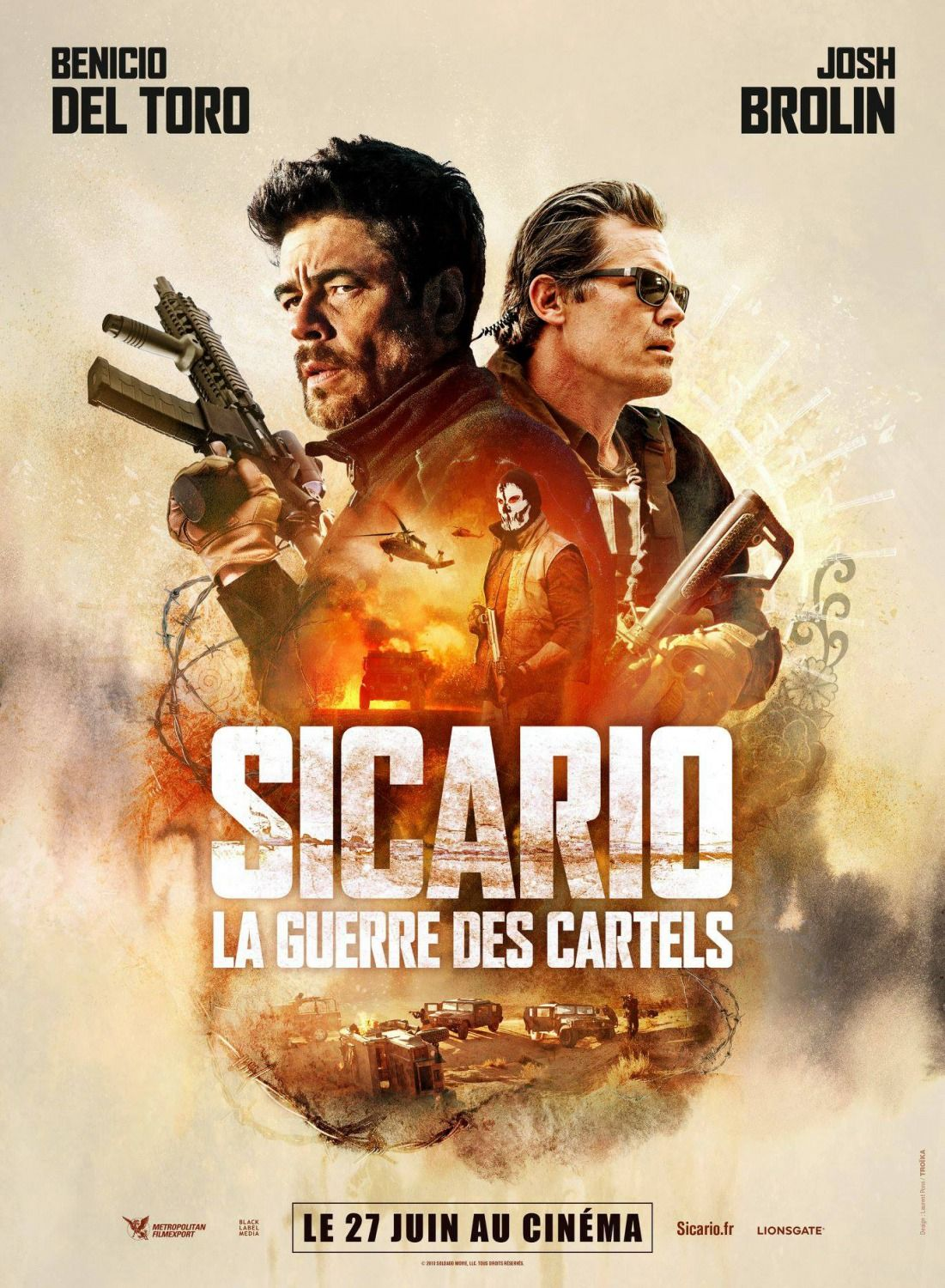 Sicario 2 Day Of The Soldado 3 New Movie Posters From France