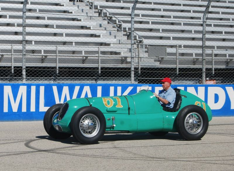 1938 Miller 8 Indy front wheel drive race car