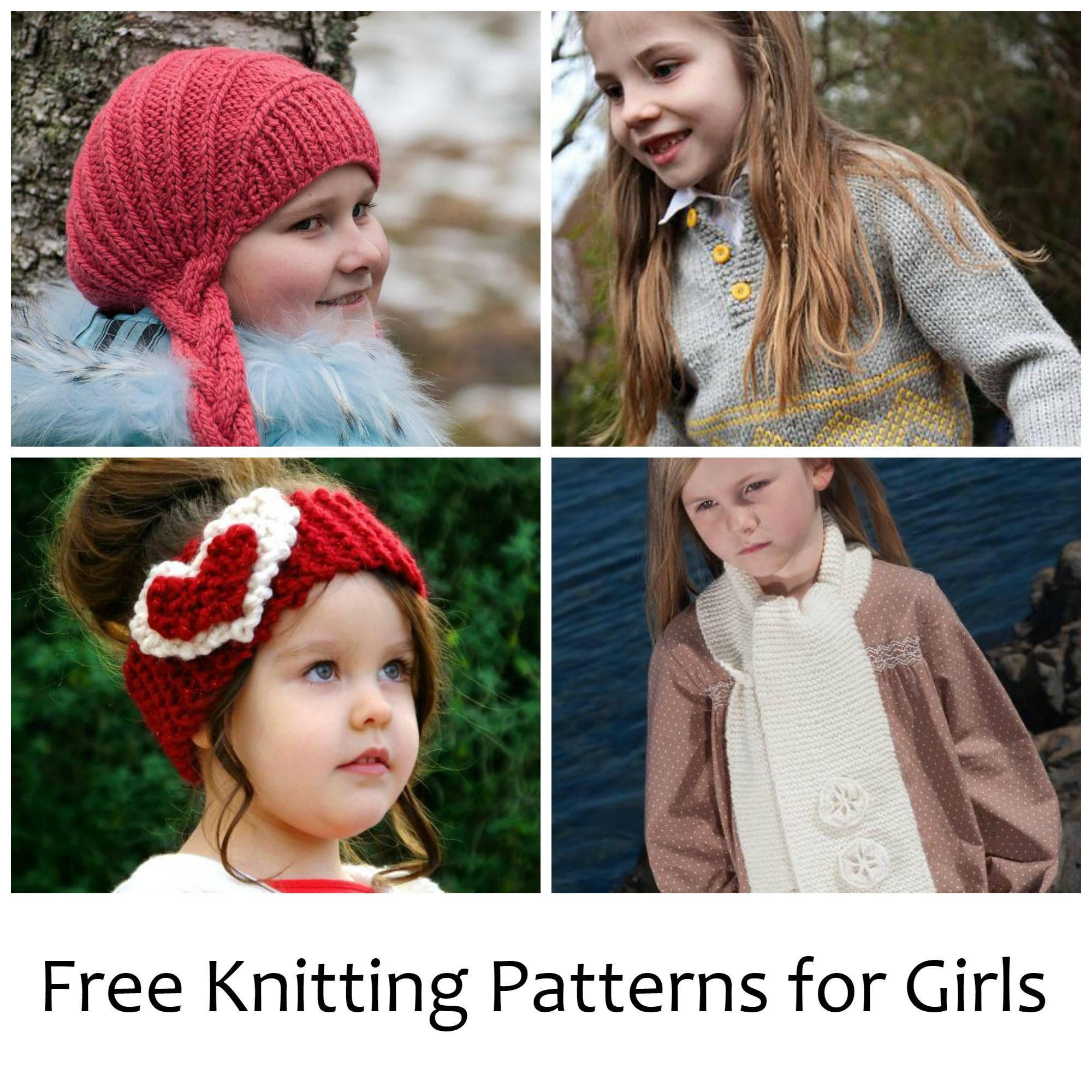 2a895855a8bf 10 Free Knitting Patterns for Girls on Craftsy