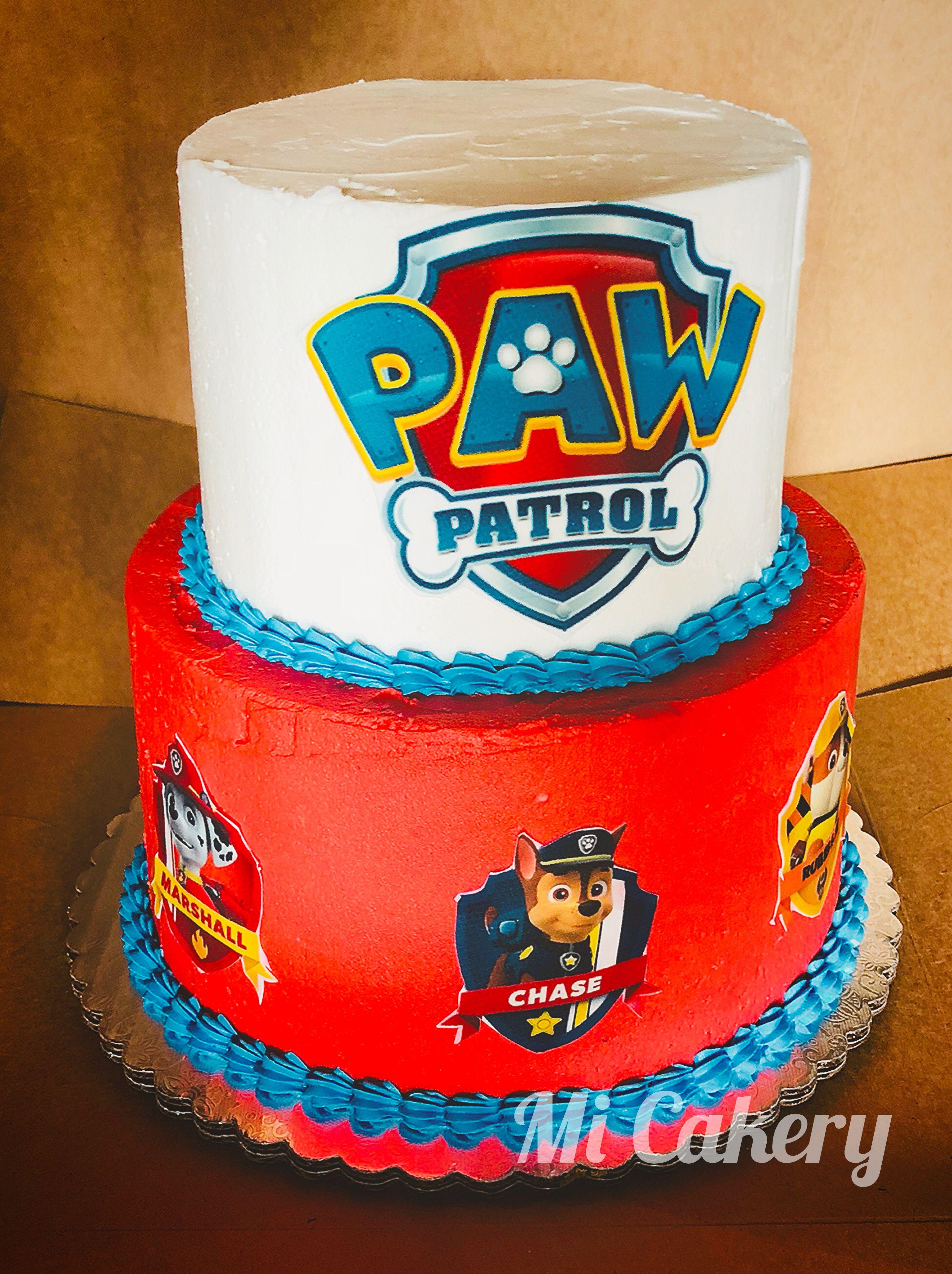 Paw Patrol Cake Paw Patrol Cake Cake Edible Images
