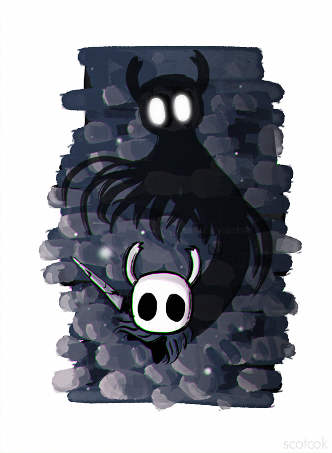 Hollow Knight By Scottcok Hollow Night Chibi Coloring Pages Knight