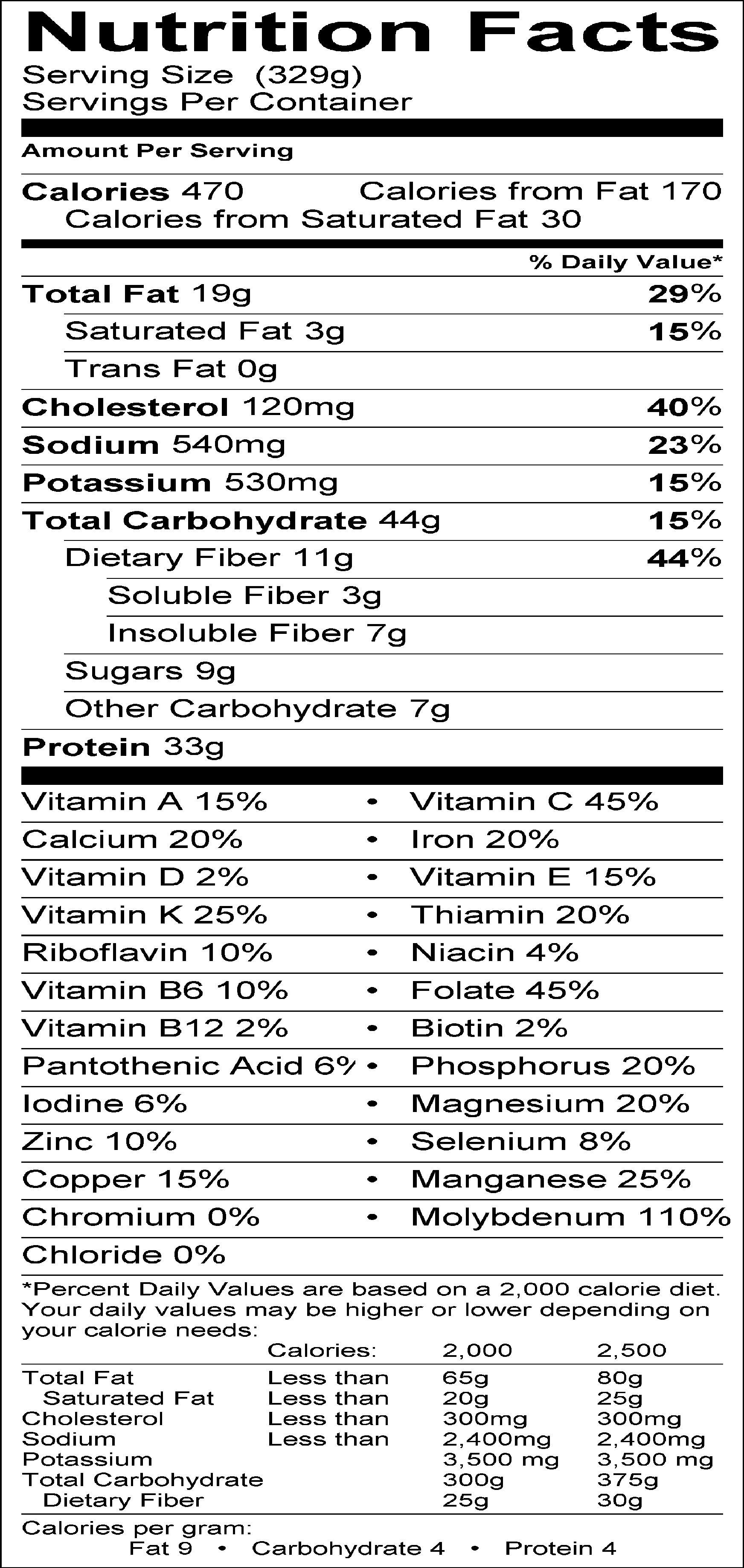 pineapple nutrition facts label >>> you can find more details by