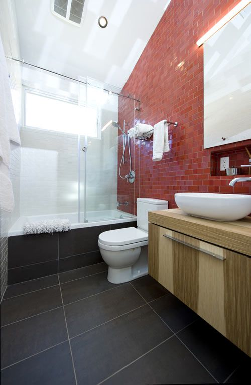 Bathrooms A L Abode: Lincoln Residence By E/L Studio