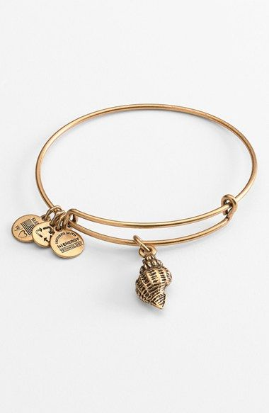 Alex And Ani Conch S Expandable Wire Bangle Available At Nordstrom