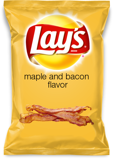 maple and bacon flavor