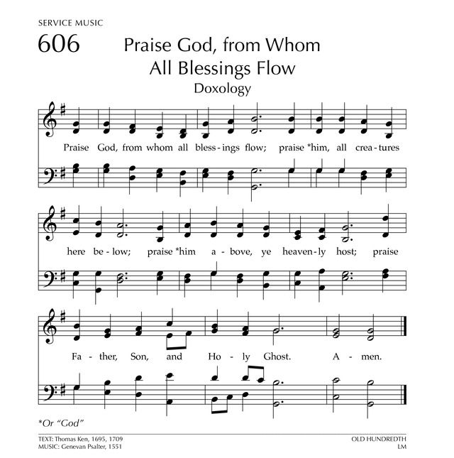 Bless The Lord My Soul Hymnary Org Partituras Partitura Para