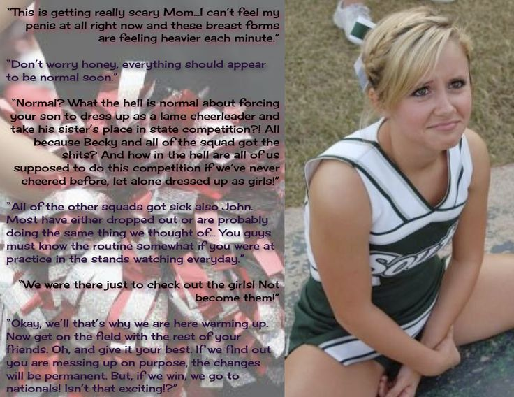 Image Result For Forced Feminization Captions Cheerleader -3112