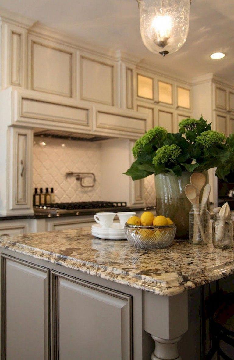 40+ Gorgeous French Country Kitchen Design & Decor Ideas