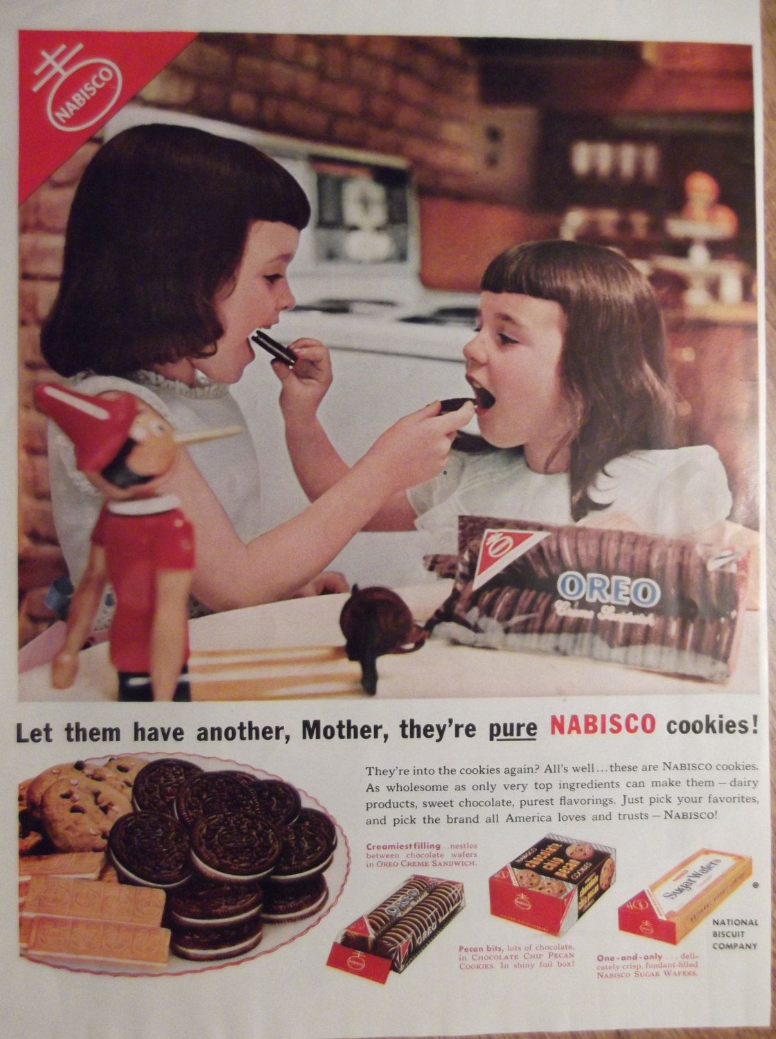 Characters & Dolls Oreo Doll Nabisco Cookie Advertising Promo Premium Toy In Box Vintage 80's Traveling Collectibles