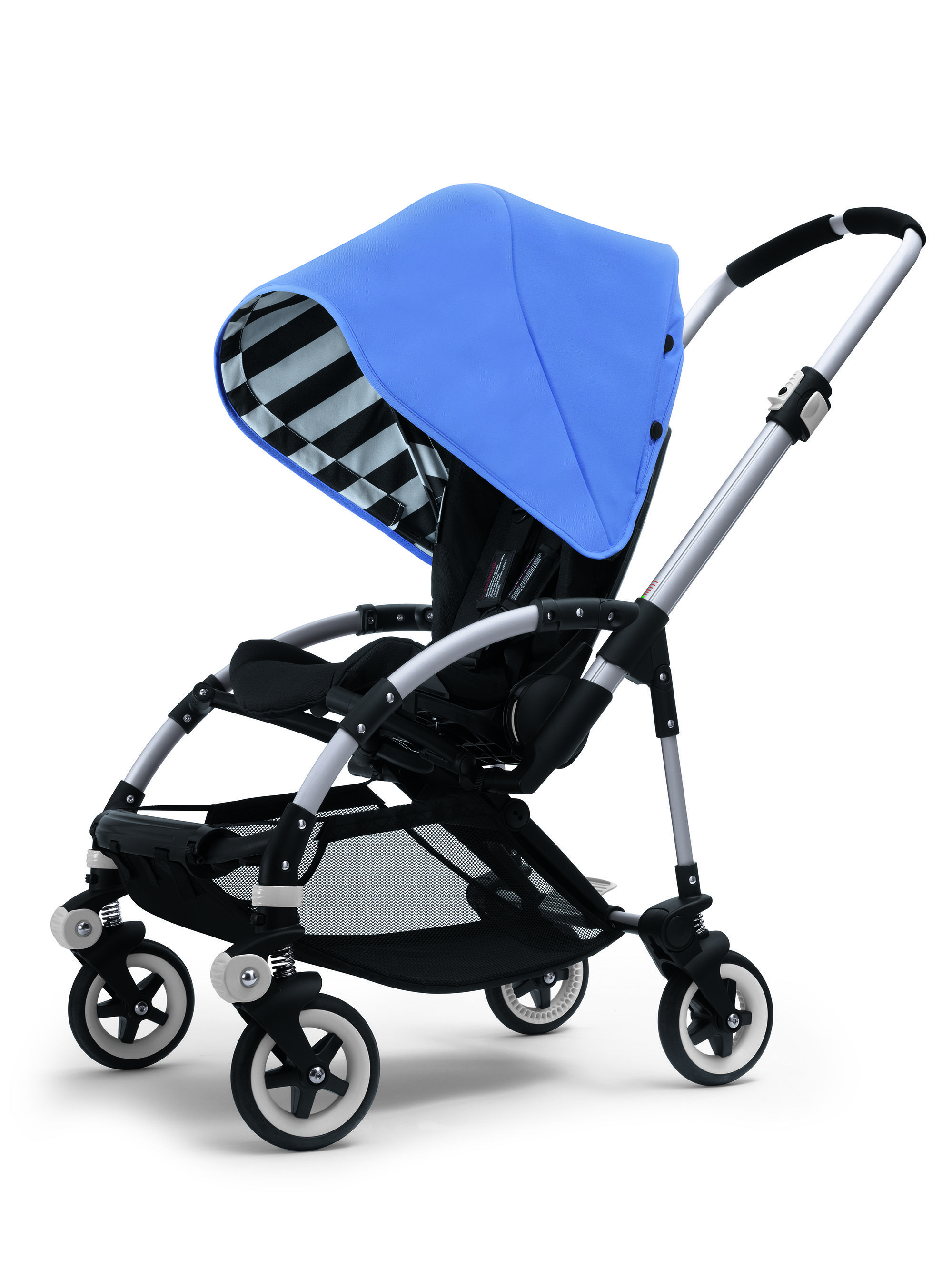 Bee Sun Canopy Jewel Blue by Bugaboo at Neiman Marcus.  sc 1 st  Pinterest & Bugaboo Bee Jewel Blue Special Colour Nice stripe detail ? | baby ...