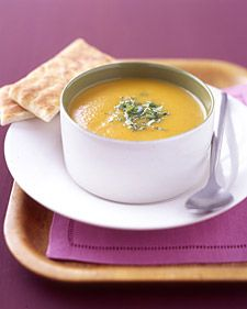 curried carrot soup. AMAZING.