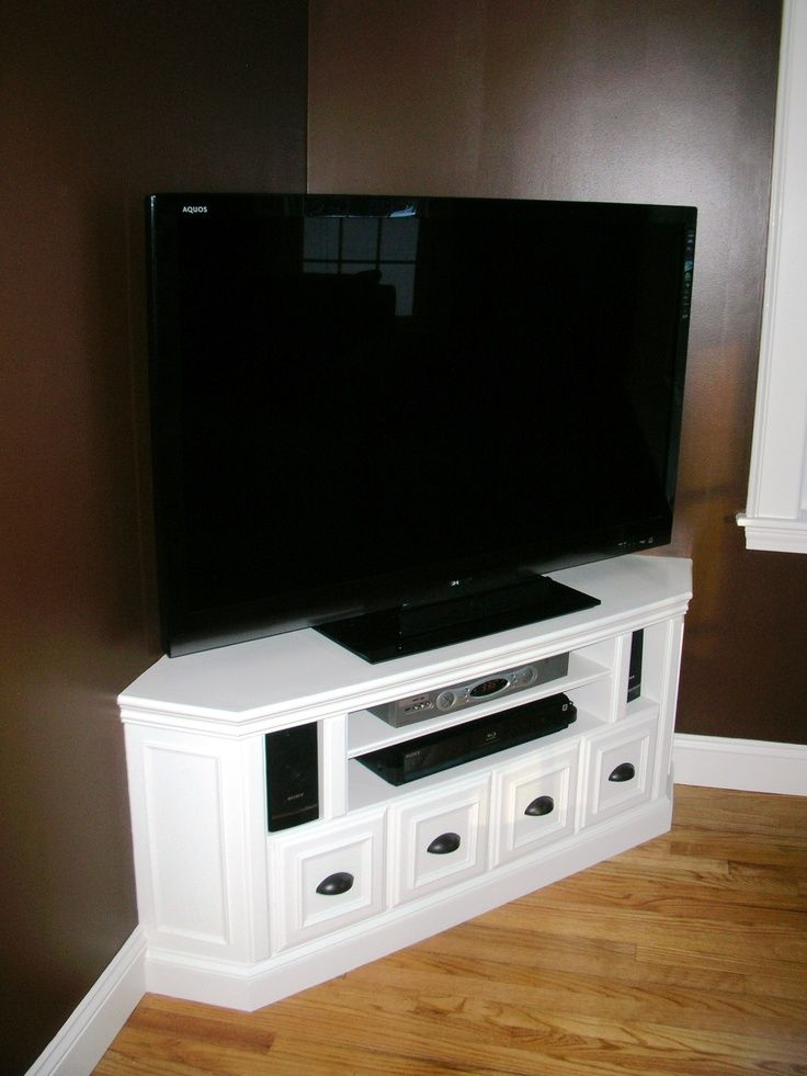 Tv In Corner Of Room Design: LIVING ROOM Built In Corner Cabinet (from Harts Run) Built