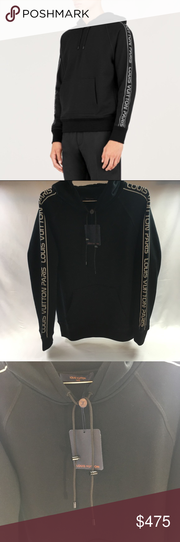 1909a2d1e70 Louis Vuitton 3M Reflective Hoodie Hey Ya'll Up for grabs is my LV ...