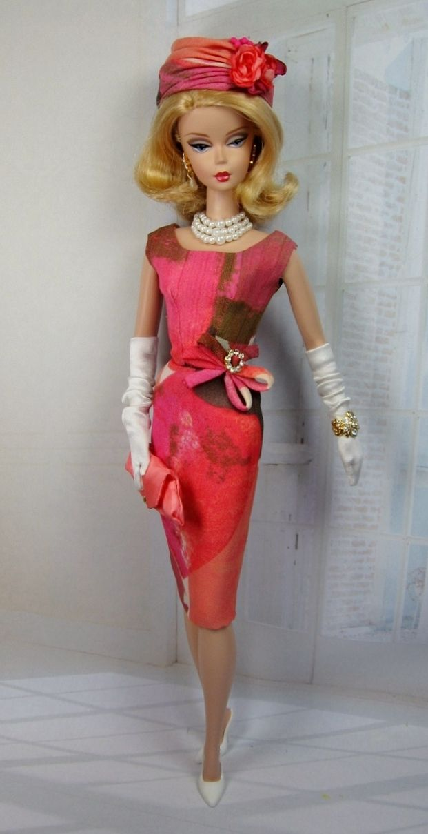 PInk Halo for Silkstone Barbie and Victoire Roux on Etsy now