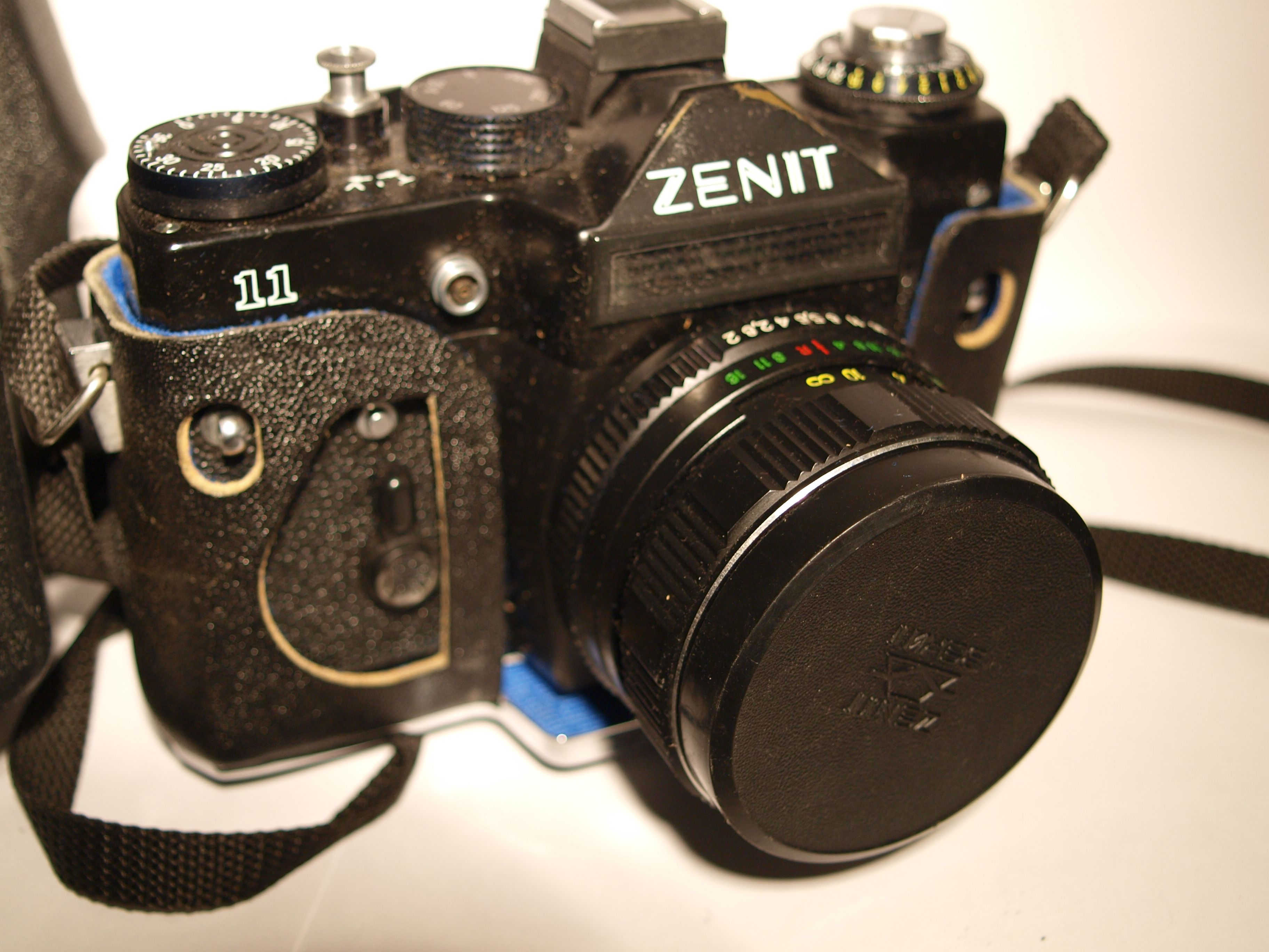 Simply Vintage Soviet Ussr Zenit 11 Slr Camera With Helios 44 4m