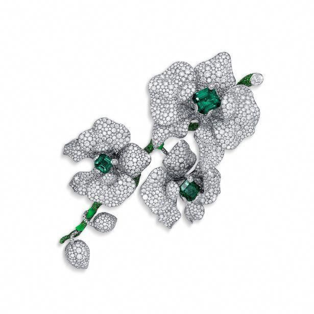 Orchid Trellis New Diamontrigue Jewelry: Slideshow:Diana Zhang's New Jewelry Line 'Orchid King' By
