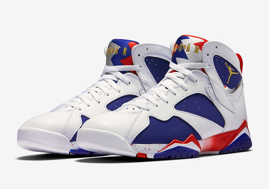Air Jordan 7 Olympic Alternate Official Images and Release Info |  SneakerNews.com