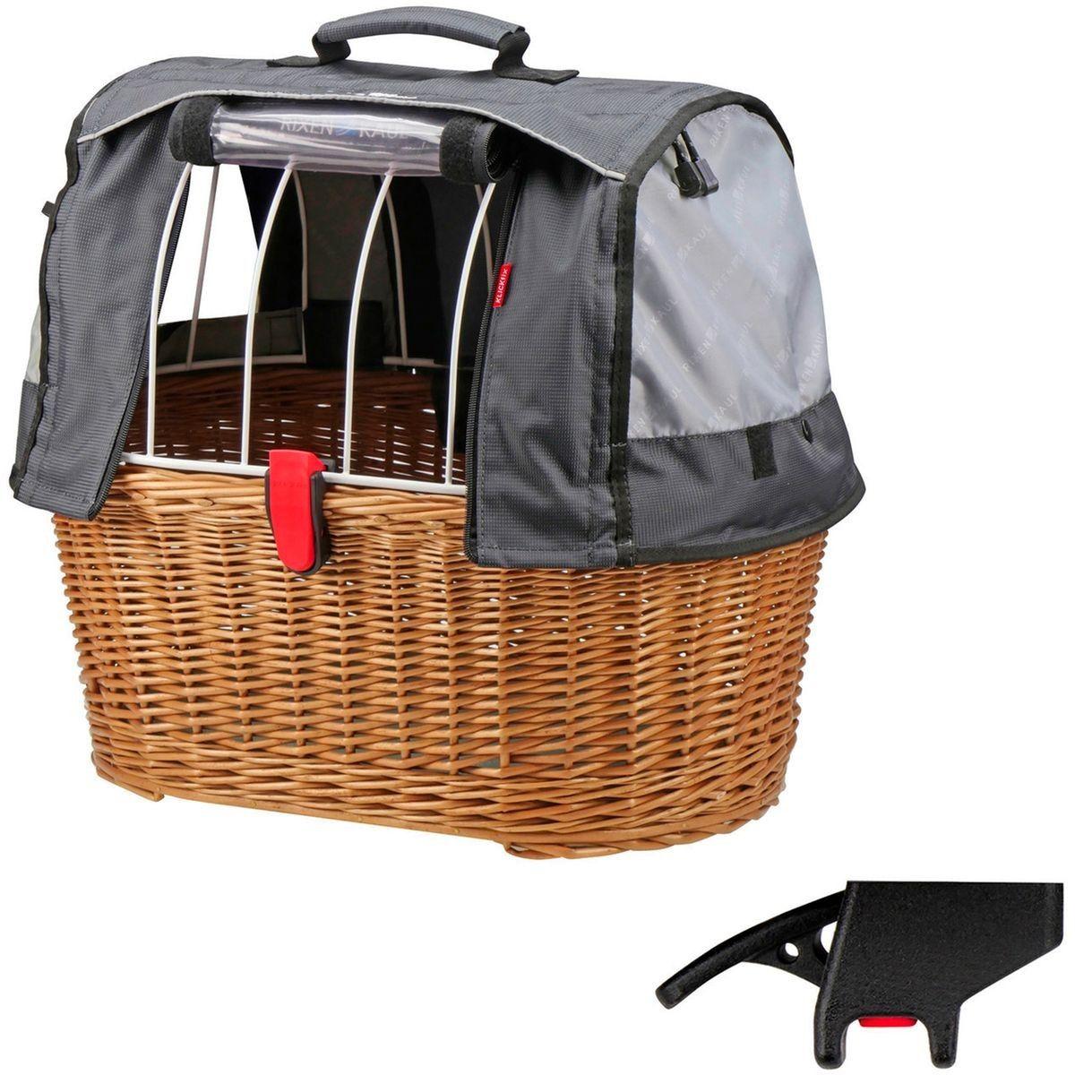 Doggy Basket Plus Panier De Vélo Clip Pour Panier Gris