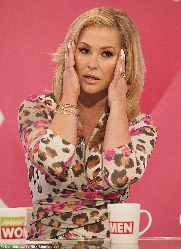 'I haven't given it up': Anastacia, 47, revealed in Tuesday's episode of Loose Women she s...