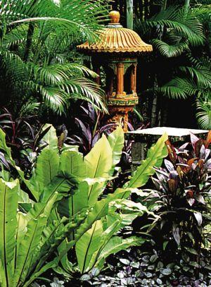 A Made Wijaya Garden From The Book Tropical Design