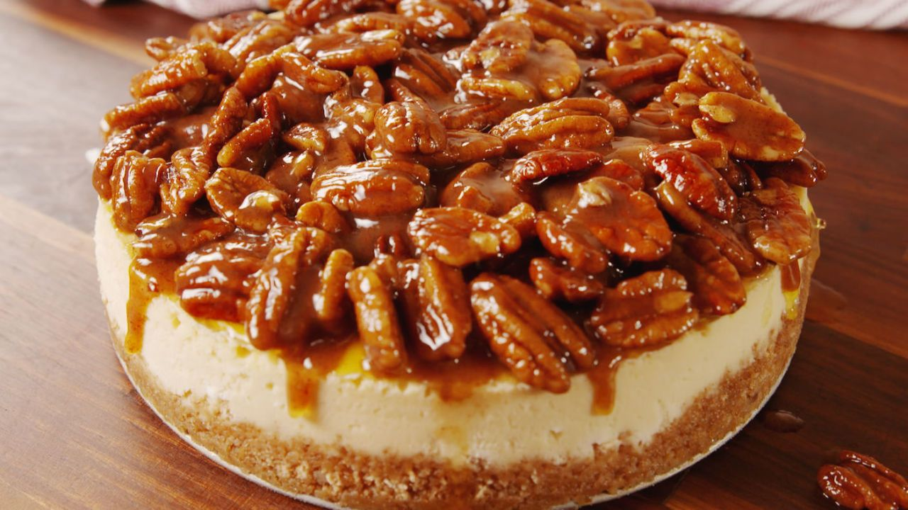 Pecan Pie Cheesecake Will Make You Wish It Was Tha