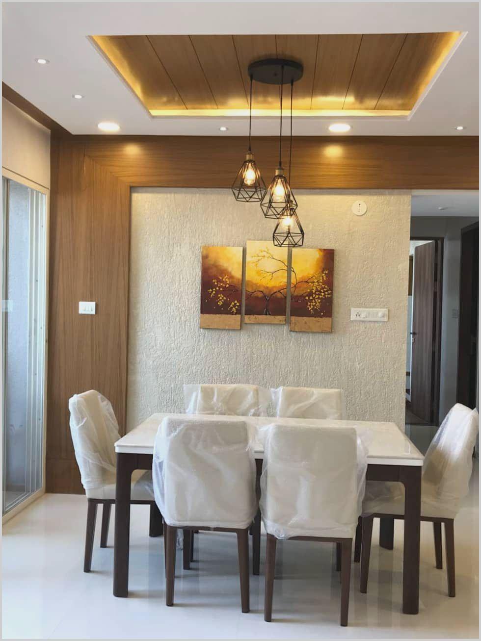 Contemporary Ceiling Design For Living Room Dekorasi Ruang Makan Desain Plafon Desain Interior