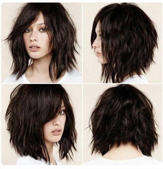 Kurze Shag Frisuren Fur Frauen Frisur Pinterest Shag Frisuren
