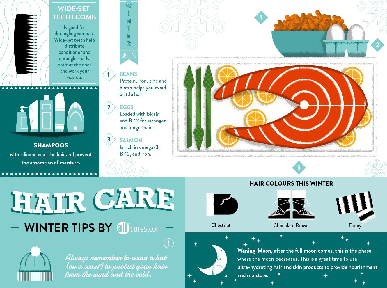 Hair Care Winter Tips #infographic