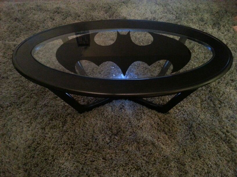 My D I Y Batman Coffee Table