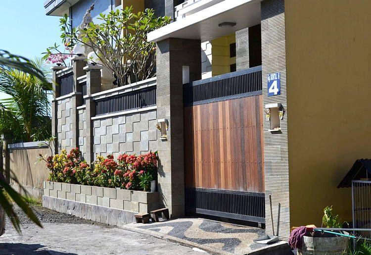 36 Model Pagar Minimalis Modern Untuk Rumah Minimalis Check More