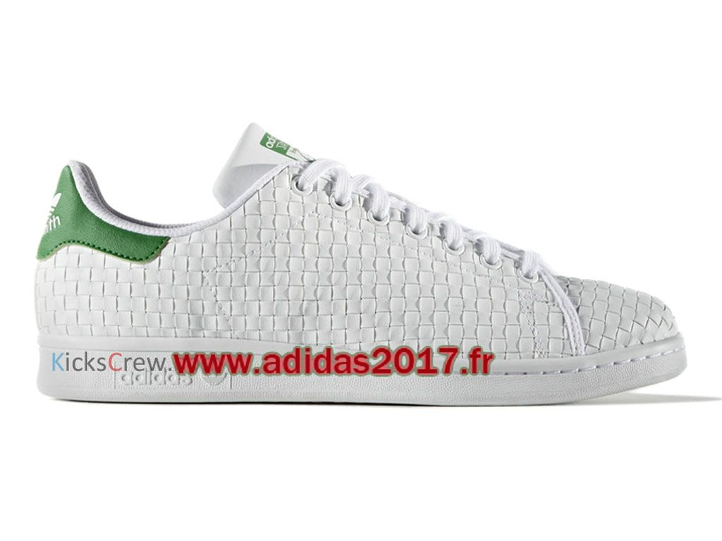 Adidas Stan Smith - Chaussure Adidas Originals Pas Cher Pour Homme/Femme  Blanc BB1468
