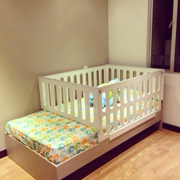 Cama cuna ita muebles infantiles dise o seguro kiki - Cuna de diseno ...