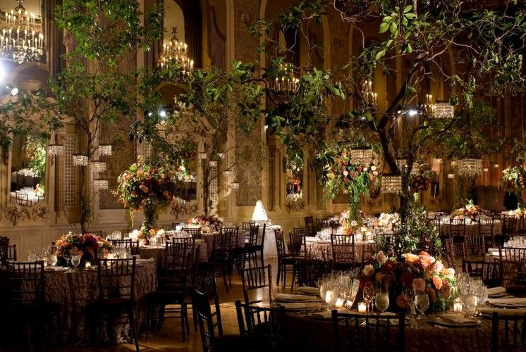 Outdoor wedding reception venues indoor garden wedding for Indoor wedding reception ideas