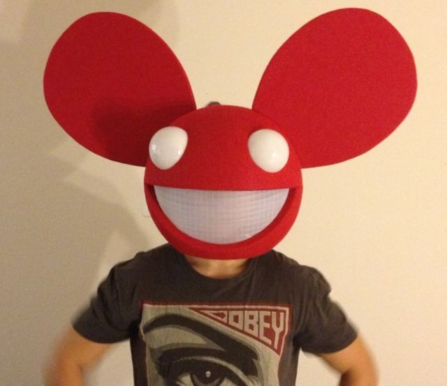 deadmau5 halloween costome head 16 inch hollow ball at wwwsmoothfoamcom - Deadmau5 Halloween Head