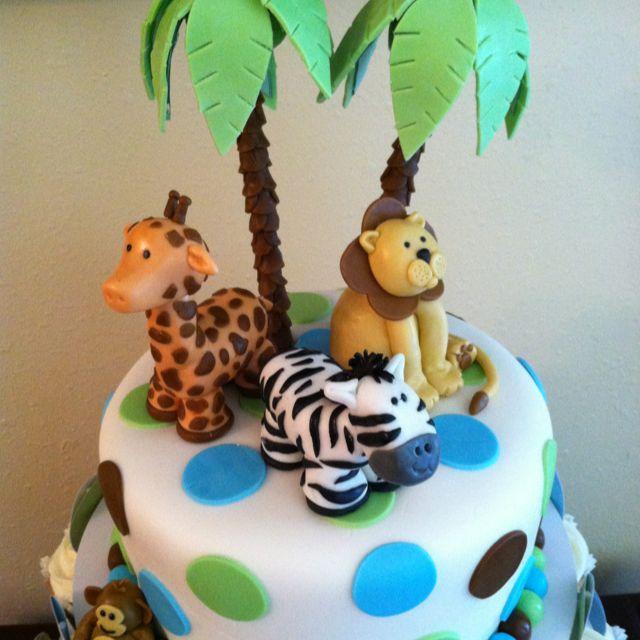 Pin By Kristina Rivera On Cake Ideas Zoo Cake Safari Birthday Cakes Animal Cakes