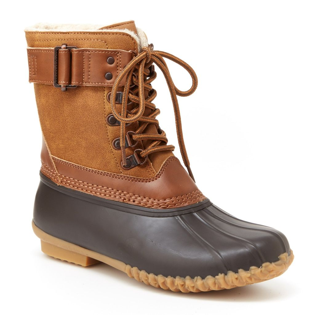 Brown/Whiskey (With images) Boots, Duck boots, Womens