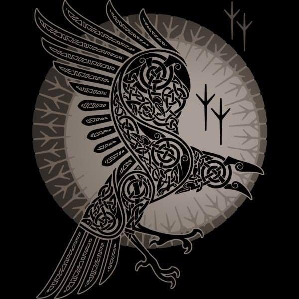 Usmar usmar org valknut rune futhark asatru tatoo pinterest vikings soleil et - Tatouage rune viking ...