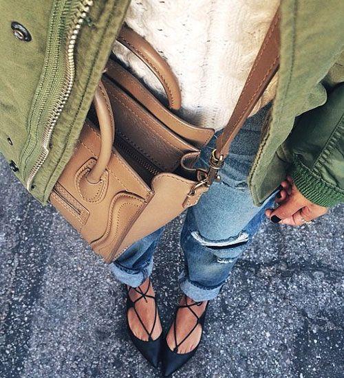 Trend Alarmı: Lace Up Babetler