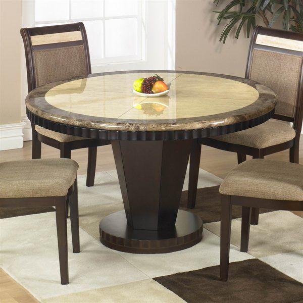 Armen Living B993 Clo Round Dining Table