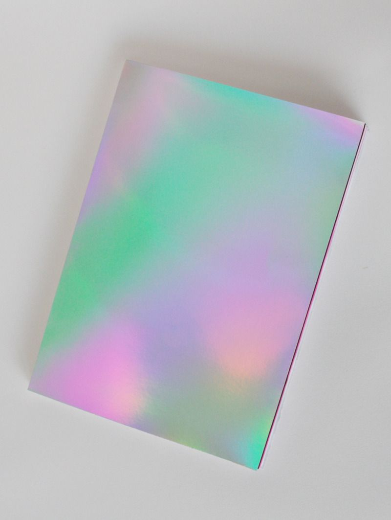Holographic cover by Jennifer Mehigan. I just love all things holographic, 3D, or neon. I don't care if its tacky, I friction' love it all... Aileen