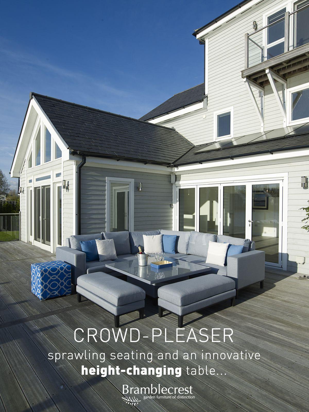 A real crowd-pleaser, our Indigo Modular Sofa set offers sprawling ...