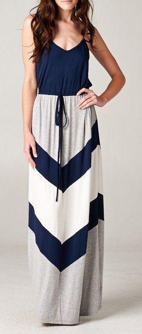 Chevron Audrey Dress ♥