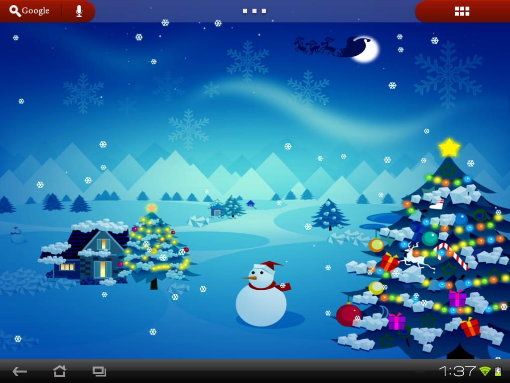 Live Wallpaper Christmas Christmas Live Wallpaper Merry Christmas