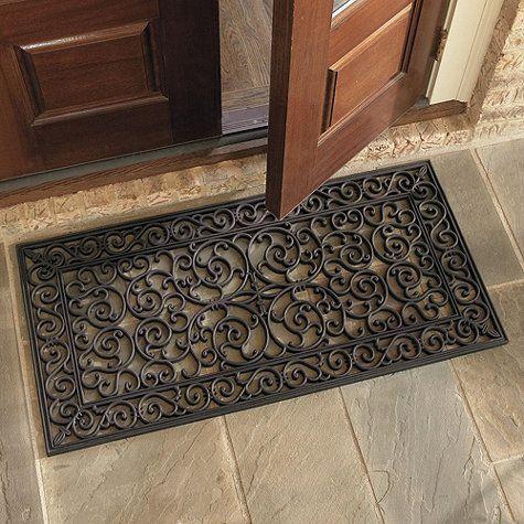 Elegant Highgate Doormat  Double Door, Ballard Designs.