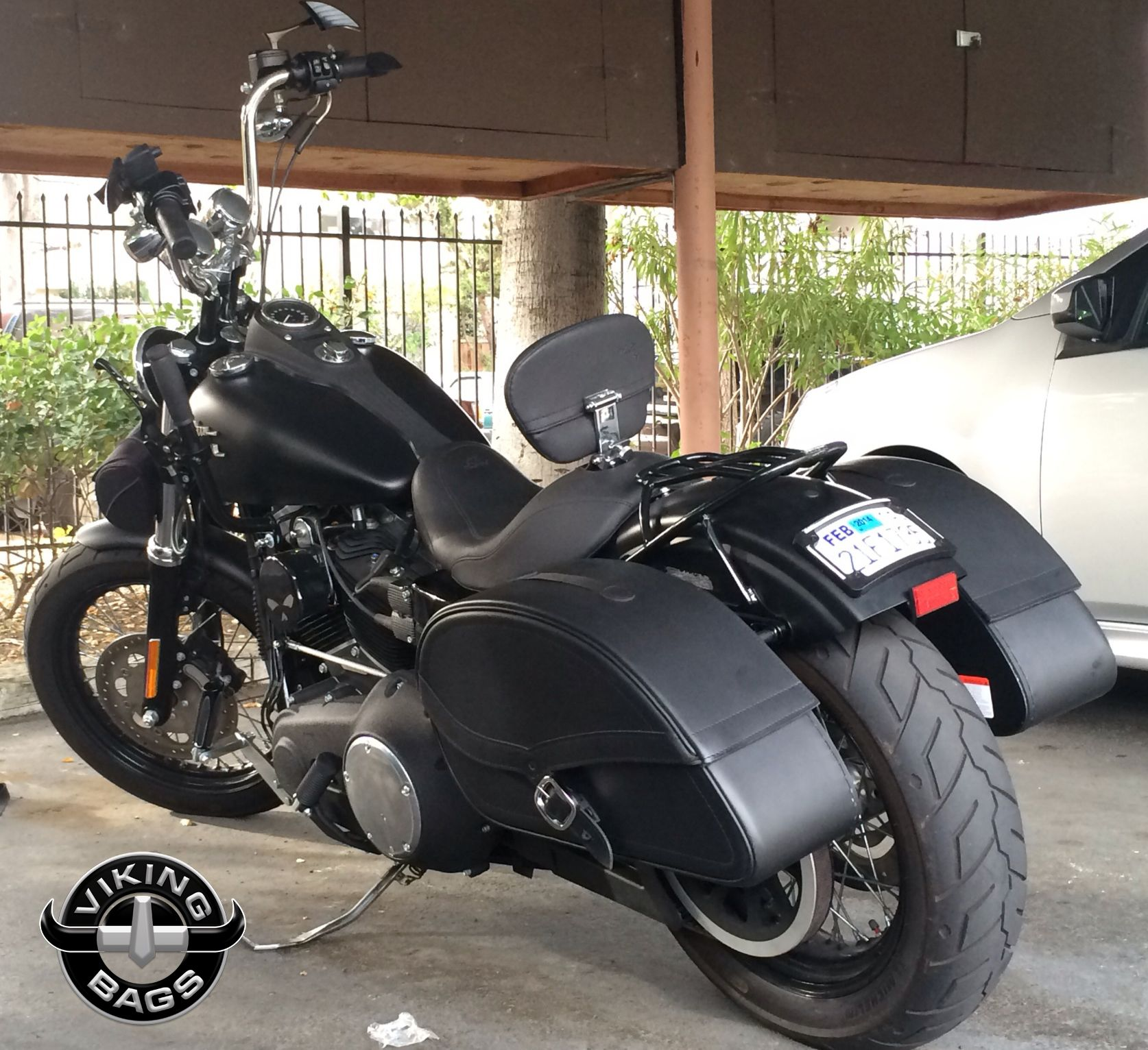 Check out Gabe's #Harley #Dyna Street Bob rocking a pair of