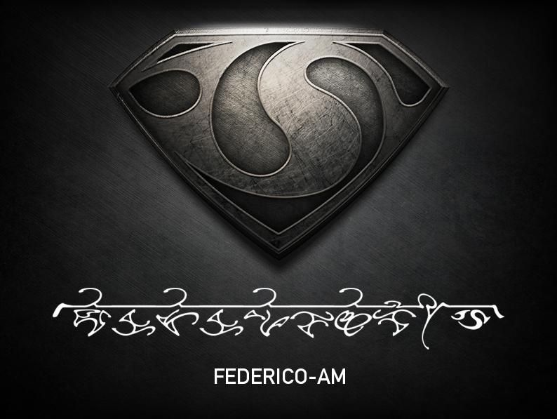I am Federico-Am (Federico of the house of AM). Join your own Kryptonian House with the #ManOfSteel glyph creator http://glyphcreator.manofsteel.com/