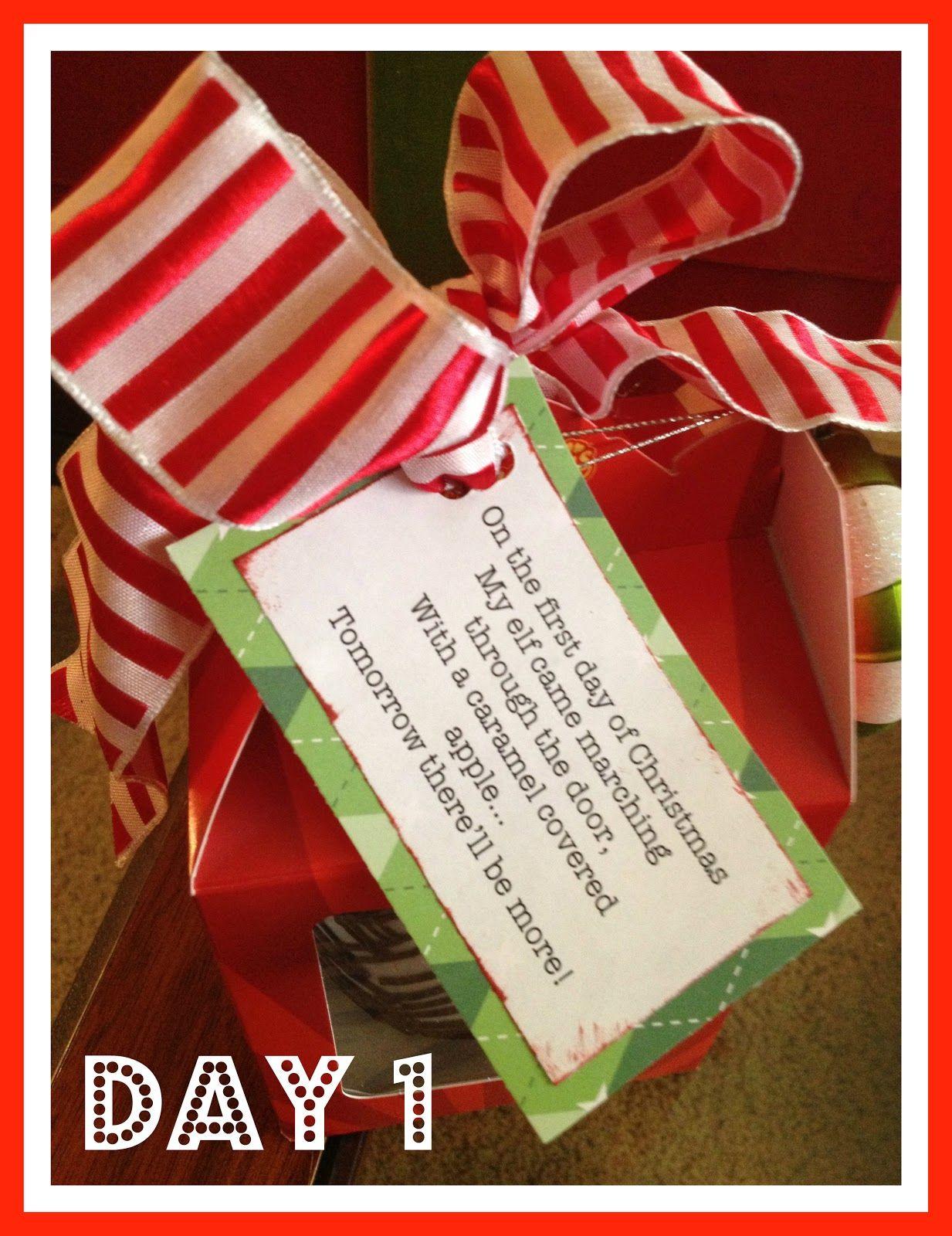 12 Days Of Christmas Craft Ideas Part - 45: 12 Days Of TEACHER Christmas. @Cindy Little @Courtney Shelton