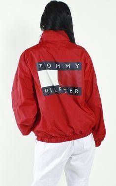 a5d5b2673416b Vintage Tommy Hilfiger Logo Jacket