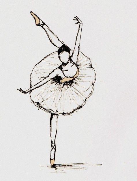 Bailarina Desenho Tumblr