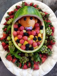 Perfect Fruit Baskets Baby Shower Watermelon   Google Search